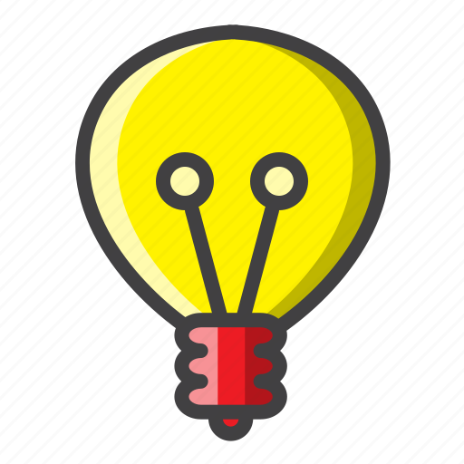 bedroom, bulb, electricity, filled, lamp, light icon