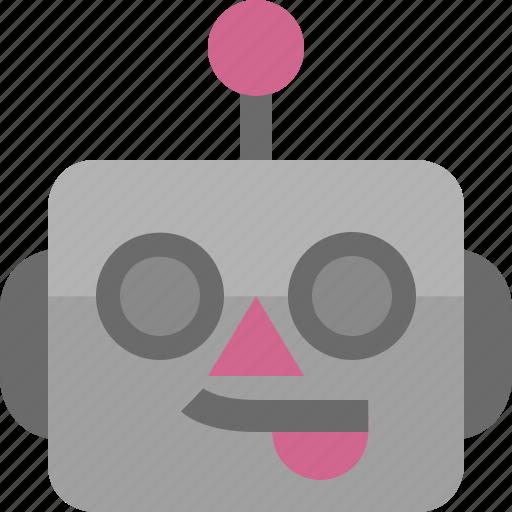 avatar, cute, emoji, emoticon, funny, machine, robot icon
