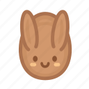 chocolate, easter, egg, holidays, rabbit, spring, sweet icon
