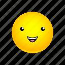 emoji, face, grinning icon