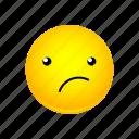 emoji, face, smirking icon