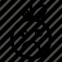 bored, character, cute, emoji, emoticon, sad icon