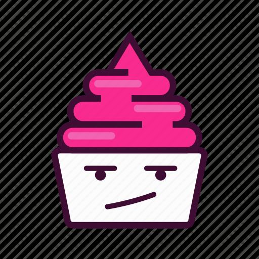 cold, dessert, emoji, expression, frozen, ice cream, yogurt icon