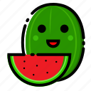 fruit, fruits, healthy, vegetable, watermelon icon