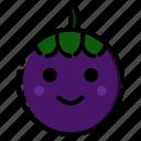 fruit, fruits, mangosteen, sweet, vegetable icon
