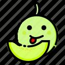 fruit, fruits, melon, sweet, vegetable icon