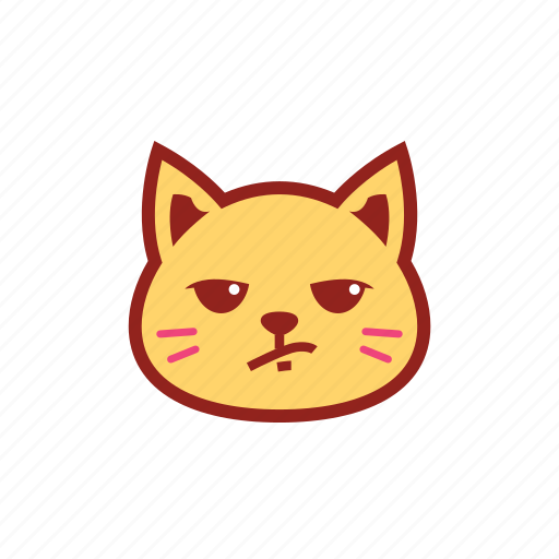 cute, emoticon, expression, kitty, whatever icon