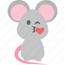 emoji, kiss, lovesick, spoony icon