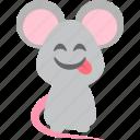 cute, droll, funnyman, mice icon