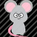 avatar, emotion, geek, nerd icon