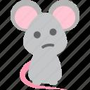 mice, mind, thinking, worry icon