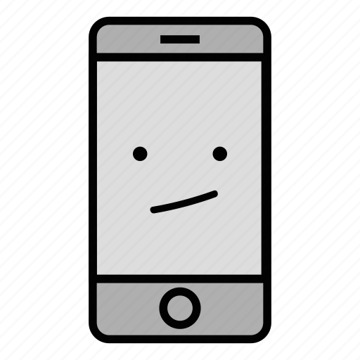 Bored, call, cell, emoji, iphone, mobile, technology icon - Download on Iconfinder