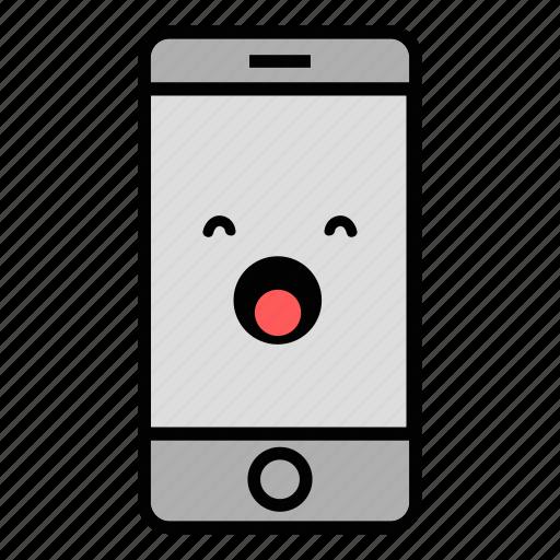 call, cell, emoji, iphone, mobile, sleep, technology icon