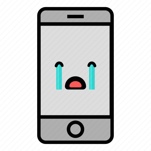 Call, cell, crying, emoji, iphone, mobile, technology icon - Download on Iconfinder