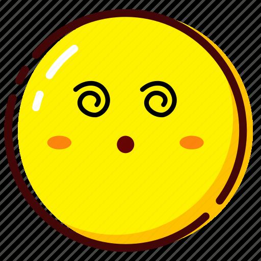 cute, emoji, emoticon, expression, ko icon