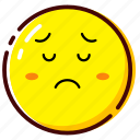 broken heart, cute, emoji, emoticon, expression icon