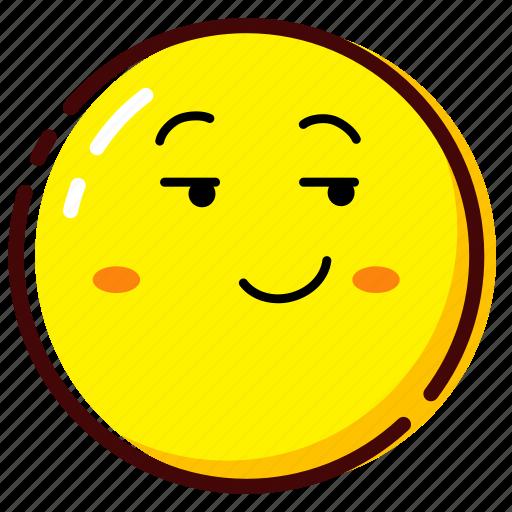 cute, emoji, emoticon, expression, mock, mocking icon