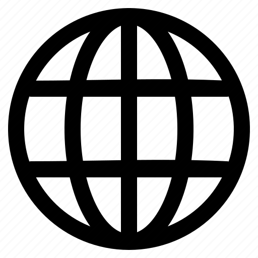 globe, site, web, website, world icon