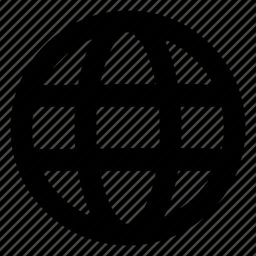 globe, internet, online, web, website icon