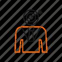 aim, arrow, target