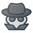 crime, cyber, hacked, hacker, spy, virus, warming icon