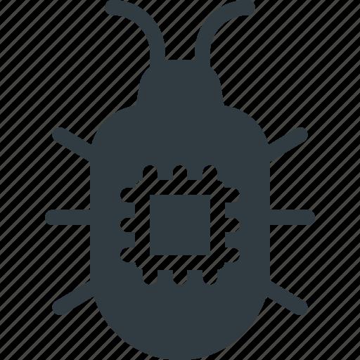crime, cyber, hacked, hacker, spy, virus, warming icon