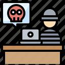 avatar, computer, hacker, people, security