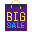 sale, shopping, discount, paper, bag