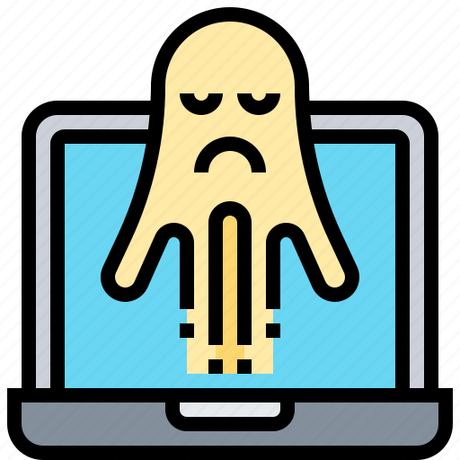Crime, ghost, hack, infected, virus icon - Download on Iconfinder