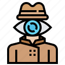 crime, hacker, hacking, security, spy icon