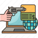 robbery, online, fraud, cybercrime, threat