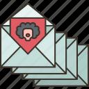 spam, mail, scam, message, threat