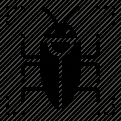 bug, crime, hacker, security, virus icon