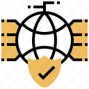 cyber, internet, network, protection, security icon