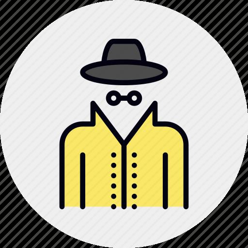 detective, espionage, hacker, incognito, spy, spyware, thief icon