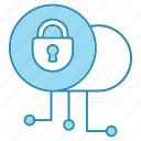 cyber security, data, lock, network protection, private, security, smart icon icon