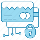 card, cyber security, encryption, payment, safe, smart, technology icon icon