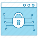 cyber security, network protection, online, safe, shopping, smart, technology icon icon