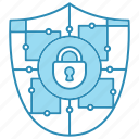 crypto, cyber security, encryption, network protection, security, smart, technology icon icon