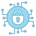 cyber, cyber security, encryption, network protection, security, smart, technology icon icon