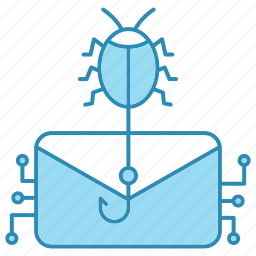 attack, cyber security, email, encryption, smart, technology icon icon