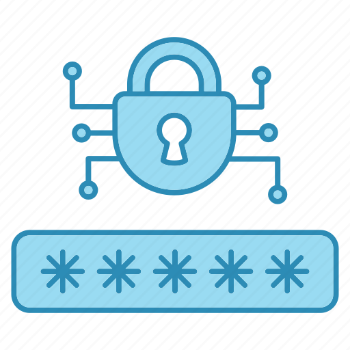 cyber security, encryption, network protection, password, smart, technology icon icon
