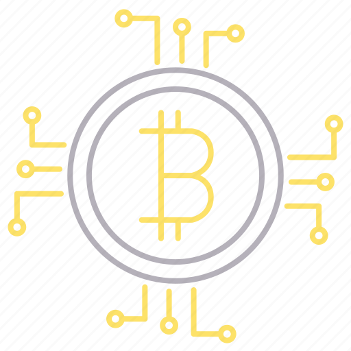 bitcoin, crypto, currency, cyber security, money icon