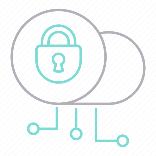 cyber security, encryption, lock, password, private, security icon