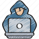 cyber, hacker, online, security