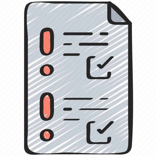 analysis, checklist, cyber, risk, security icon