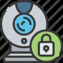 cam, cyber, lock, secure, security, web
