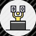 arbiter, competition, contest, expert, judge, jury, referee icon