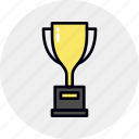 achievement, award, cup, goblet, prize, reward, victory icon