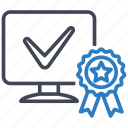 award, computer, quality